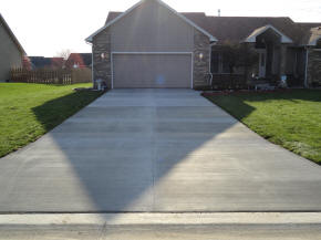 New Concrete Driveway and Sidewalk  in Swartz Creek, MI