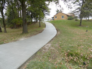 New Concrete Driveway and Sidewalk  in Mt. Morris, MI